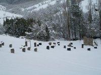 El campo nevado