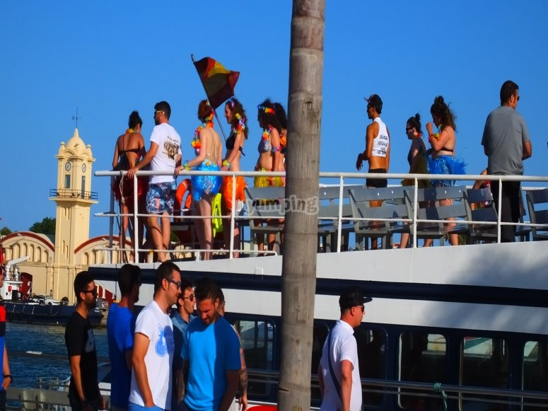 Alquiler boat party