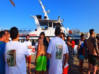 Festa in barca a Gandía al mattino e al pomeriggio