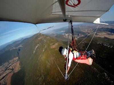15-30 min tandem hang gliding in Navarra