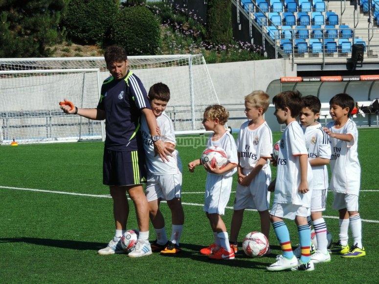 Entrenando como el Real Madrid