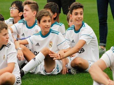 Real Madrid stay-in football campus Valdebebas