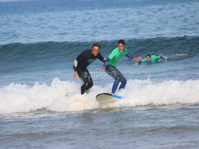 Surf in the beach Los Locos