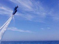 Hoverboarding in Olimpic port Barcelona