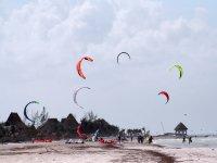 Kites en el cielo