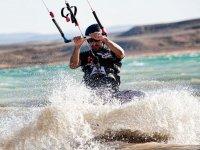 Kitesurf dans les marais