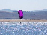 Ecole de kitesurf à l'intérieur
