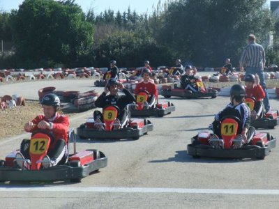 Karting in Cadice lotto di 10 minuti Adulti