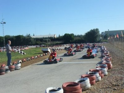 Karting a due posti a Chiclana 10 minuti