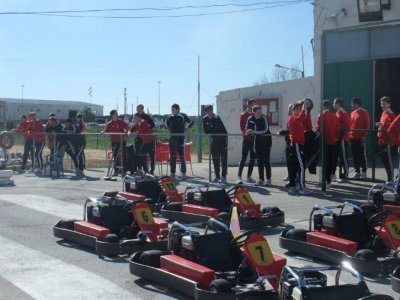 Go-karting for kids under 12 in Cádiz