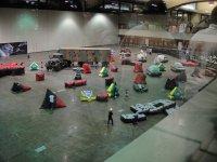 Indoor laser field