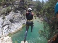 Descenso de barrancos en el Rio Verde, Granada, 5h