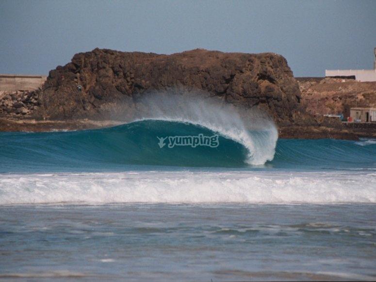 La playa de El Cotillo