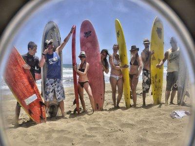 Corso di surf di 3 giorni a Fuerteventura