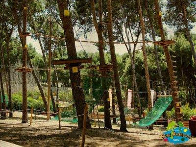 Team building nel parco zip line a Salou