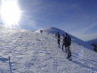 雪鞋之旅太阳