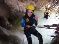 Canyoning in Alicante. Initiation
