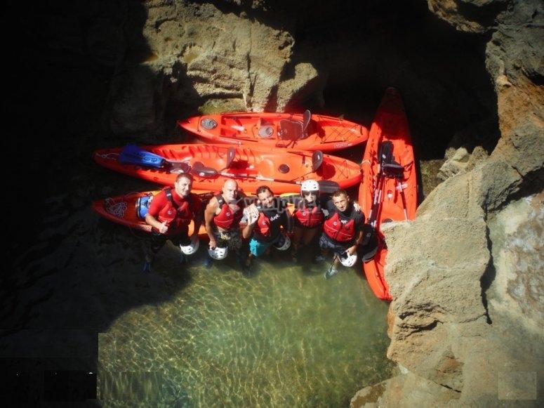 Grupos reducidos visita cuevas Dénia