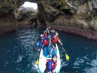 探索壮观的洞穴