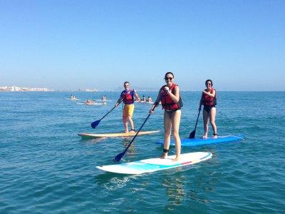 Alquiler material de paddle surf en Gandía 1h