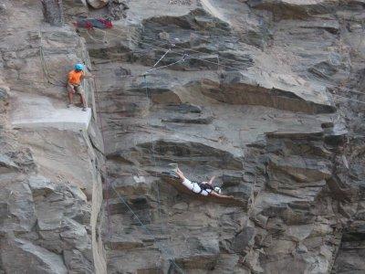 Puenting 2 saltos en Las Palmas de Gran Canaria