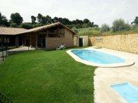 房子和游泳池Zurukuain