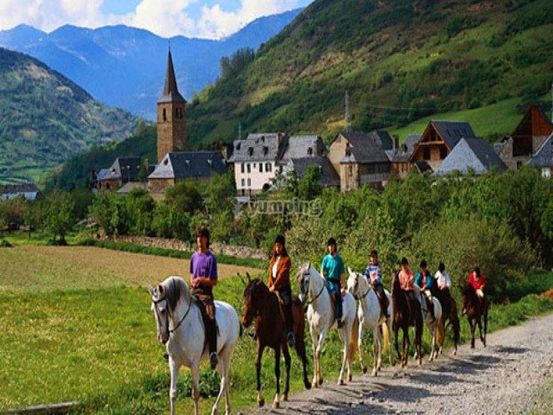 Hacer el Camino de Santiago a caballo