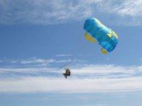 Volando sobre el mar
