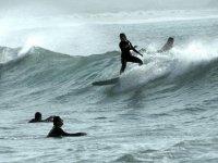 Practicas de surf bajo la visión de los más expertos surferos.