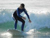 Siente la fuerza de las olas.