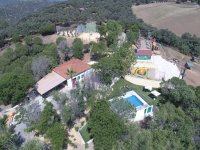 Aerial view of the park