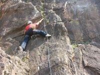 Escalar el Peñón de Jituero nivel fácil