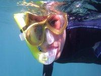 在Puerto del Carmen,Lanzarote 2h的浮潜之旅