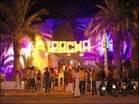 Entrada a Pachá Ibiza.