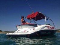 Barco para cumpleaños en Embalse de San Juan