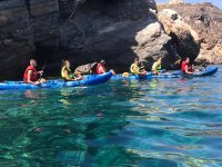 Ruta en kayak Cabo Tiñoso y snorkel Cala Cerrada