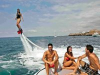 Flyboard con amigos