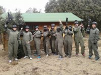 Paintball in the fortress