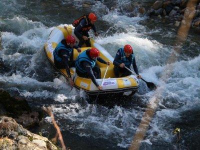 Descenso de rafting en el río Deva durante 2 horas