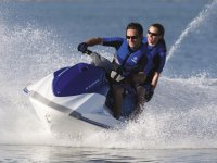 Live the experience on a jet ski