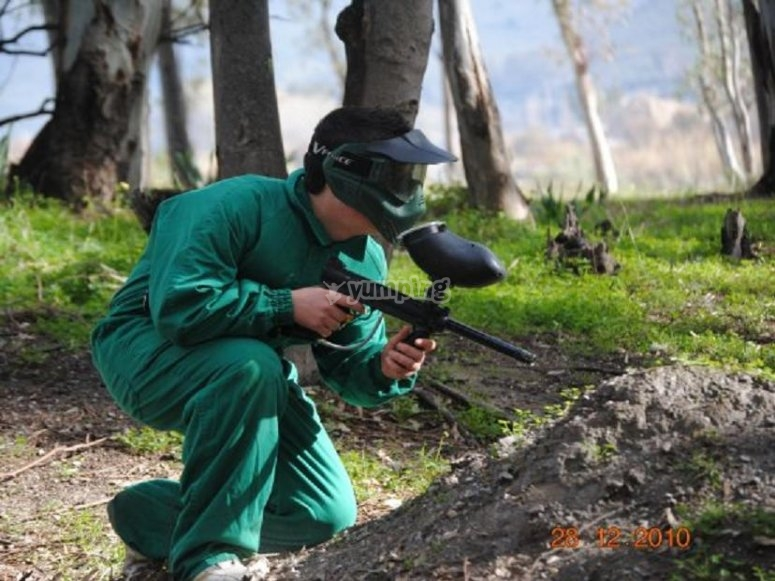 Gioca a paintball in Alpujarra