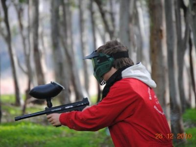 Paintball per bambini in Alpujarra con 200 palline