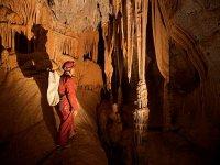Espeleología por la Cueva de Pando en Ribadesella