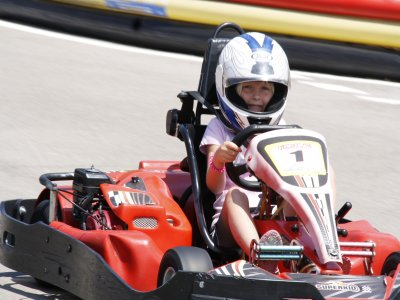 Karting in Ibiza for kids during 8 minutes