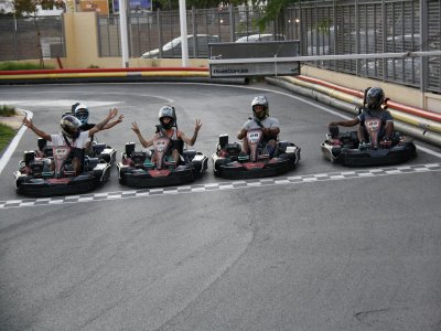 Karting race for groups in Ibiza