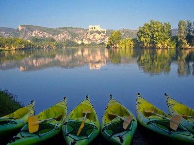 Ruta en canoa de Miravet a Benifallet Niños