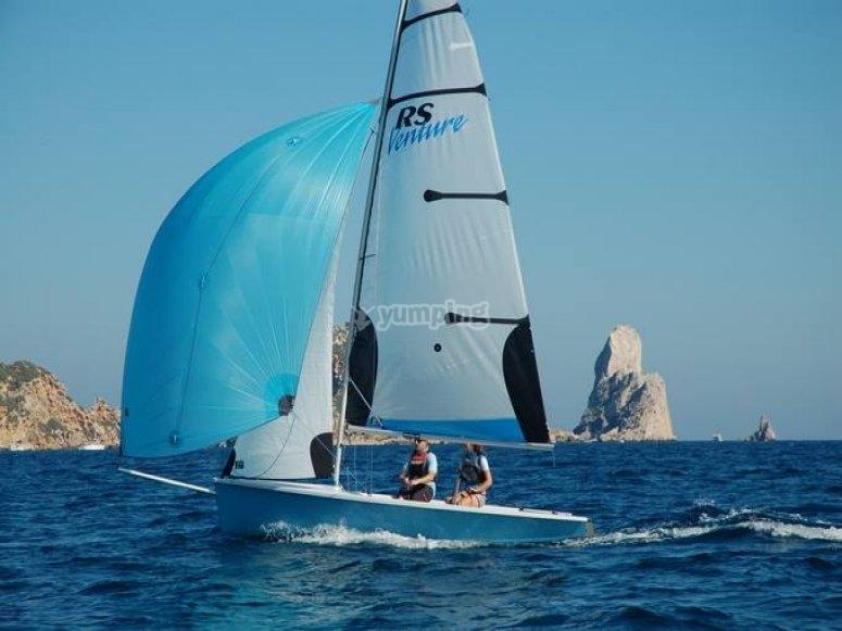帆船和冒险