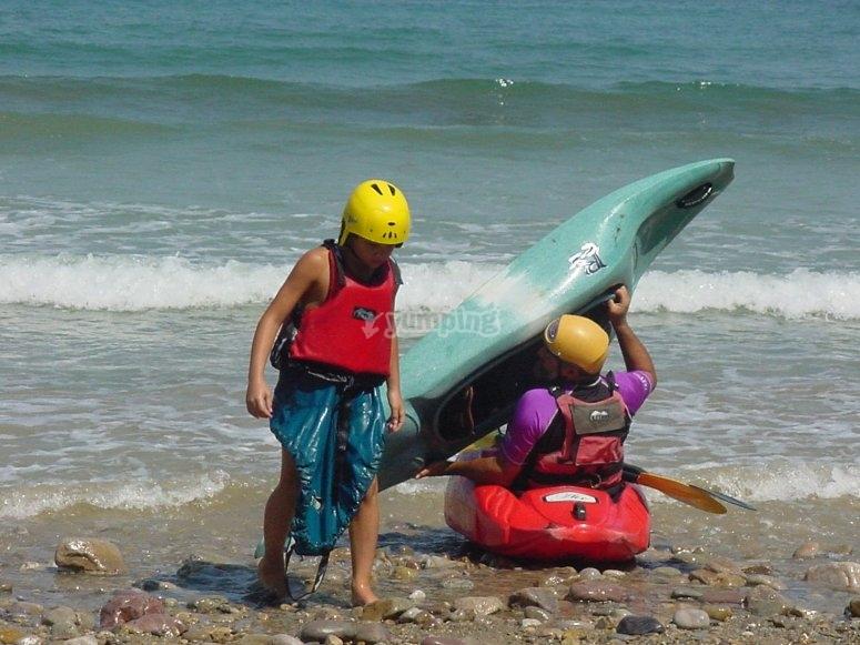 Travesia por el mar