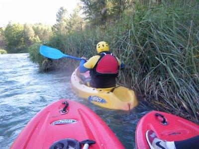 Piragüismo en el Río Cabriel 2 horas