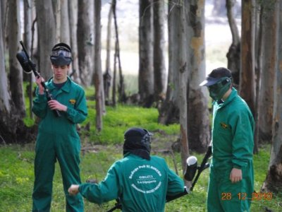 Gioco di paintball in Alpujarra con 200 palline